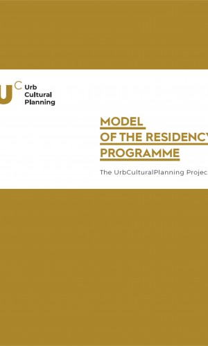 Model of the residency programme. UrbCulturalPlanning project
